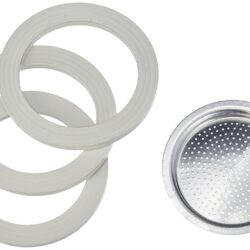 Bialetti 2 kop, 1 filter og 3 gummiringe