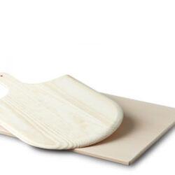 Pizzabagesten firkantet m/spade