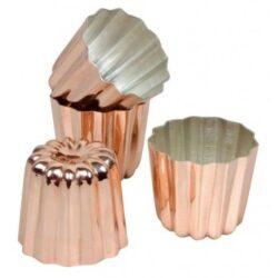 Cannele kobber form 3,5 cm