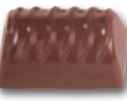 Chokoladeform Aflang Riflet (2405)