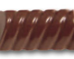 Chokoladeform Rektangulær Riflet (6295)