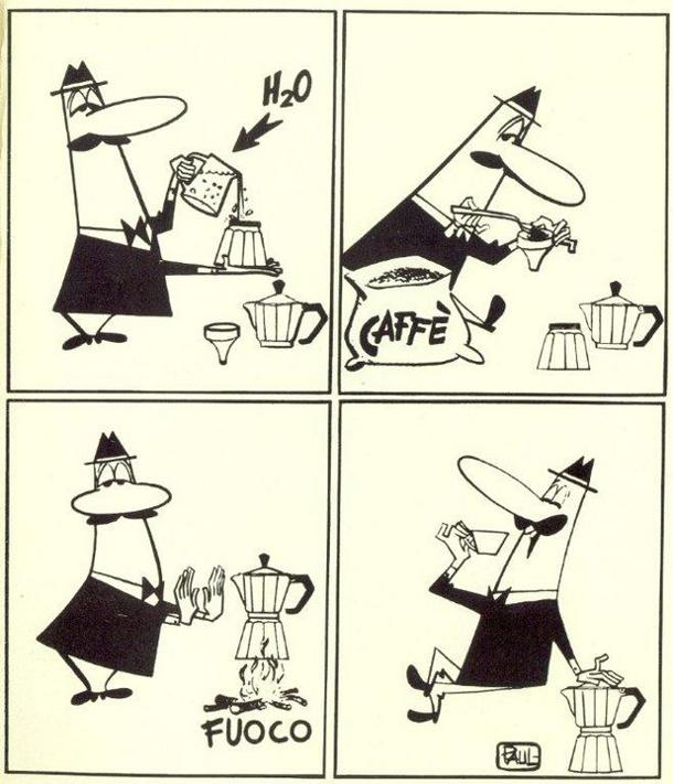 Kaffe på den Italienske måde