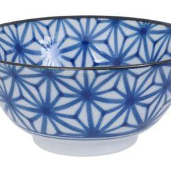Håndlavet Japansk Skål Blå 15 cm Stjerne